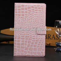 FL2794 2013 Guangzhou hot selling crocodile wallet pu leather flip case for Google Nexus 7