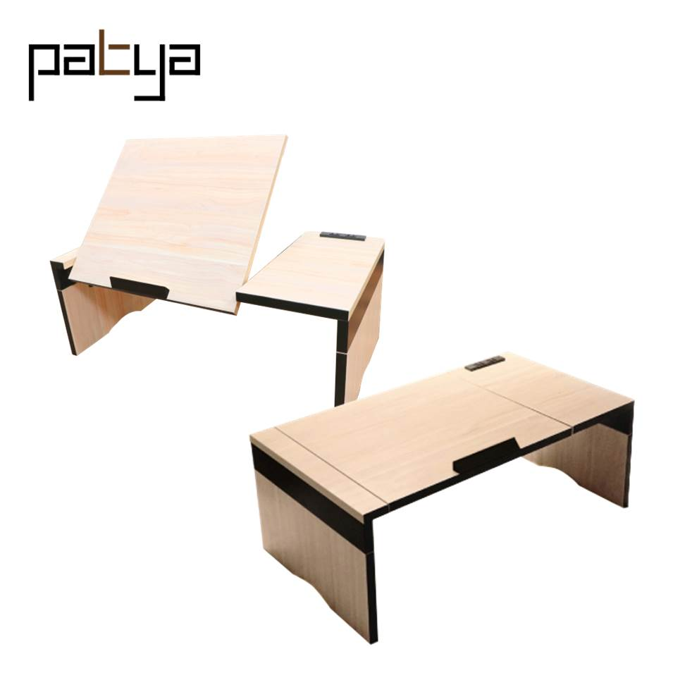 Patya Furniture living room modern Parts Laptop Table Height Adjustable For Computer