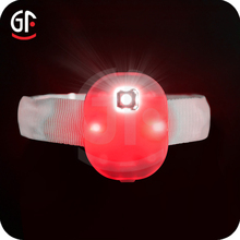 Wholesale Event Supplies Red Glow In The Dark Led Wristband