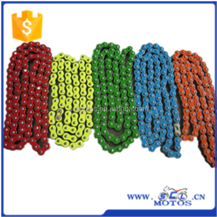 SCL-2012120088 Professional Motorcycle Chain Manufacturer Colorful Chain