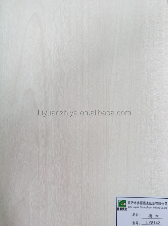 Phoebe Wood Texture Melamine Decorative Paper for Furniture