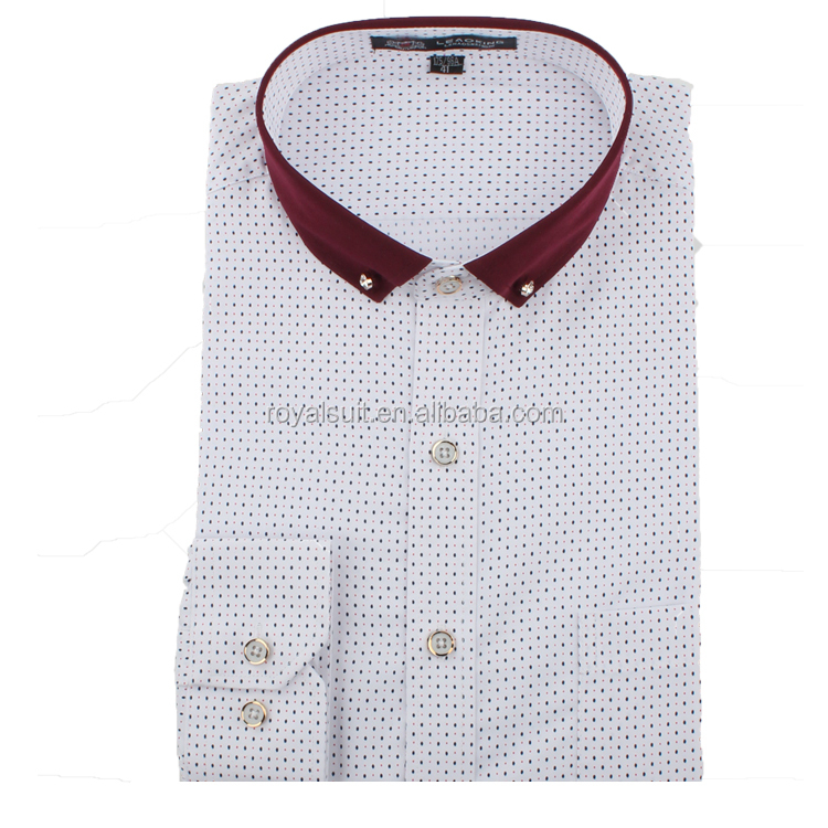 Mens wedding Shirts Mens Office business Wear Slim Fit white Dress Shirts