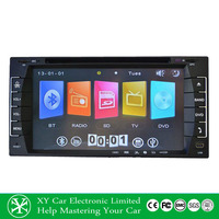 6.95 Inch GPS navigation HD digital touch screen universal 2 din car dvd player cheap XY-D8695