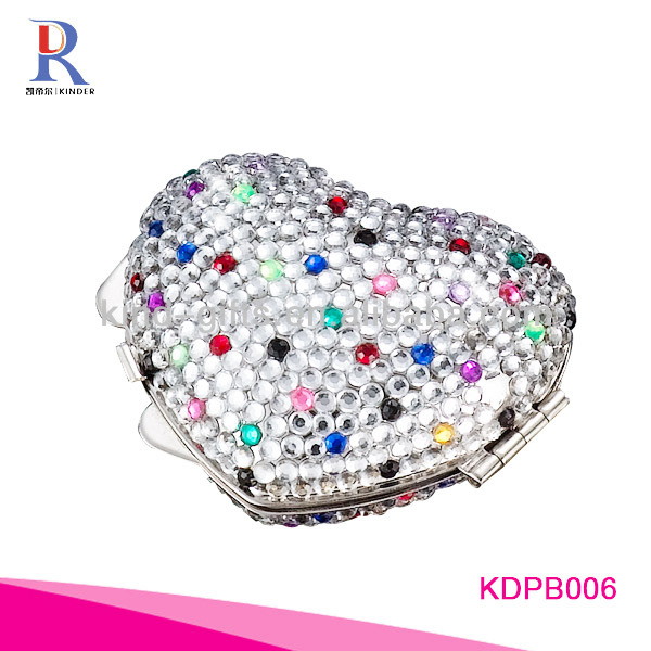 Custom Logo Rhinestone Automatic Pill Dispenser