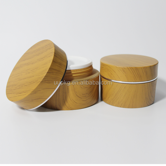 UU packaging 50ml bamboo cosmetic cream jar