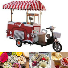 Mexican china street moble bike ice cream cart mobile