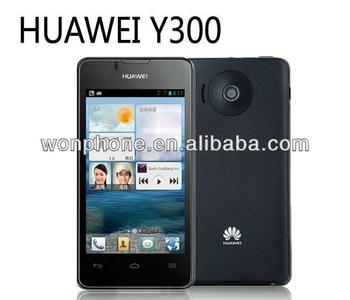 "Wholesale Price Original Huawei U8833/Ascend Y300 Dual-core 1GHz 512M+4G 4"" Screen Android 4.1 Dual SIM"