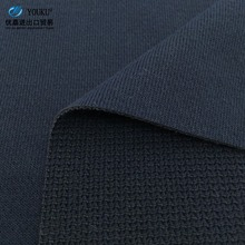 hot sale factory price interlock coarser knit fabric in dark blue for hoodie and sweater