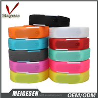 Cheap Gift Watch Different Colors Rubber Band Wrist Watches Nice for Promotion
