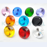 Crystal Diamond, Machine cut quality, keco crystal is work on all kinds of chandelier crystals & glass bead
