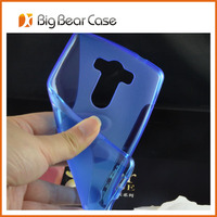 S line gel mobile phone cover for LG G3 case