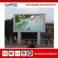 outdoor led display flexible solar panel led screen