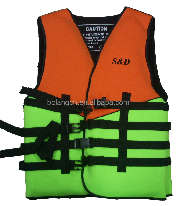 2016 Personalized life jacket vest swimming diving mask saftly vest for adult