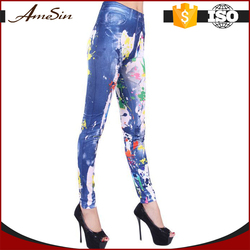 buy wholesale from china women print leggings