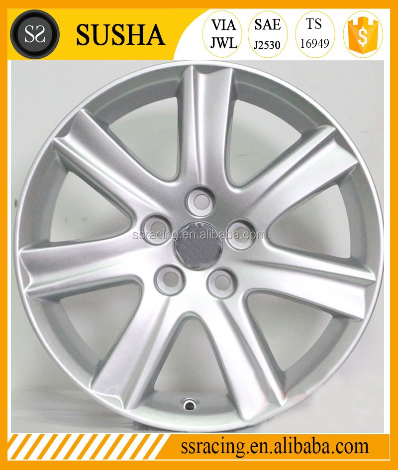 "7Jx17"" replica silver alloy wheels for Toyota ES350"