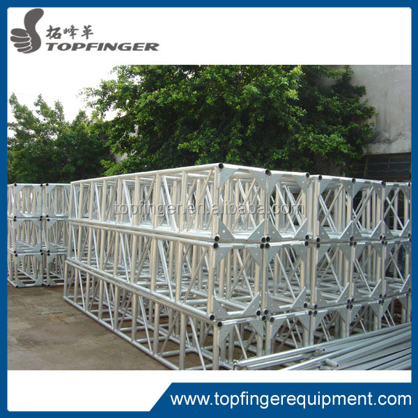 Hot sell assemble ALUMINUM crank stand metal truss with sound wing