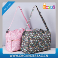 Encai Fashion Floral Printing Duffel Bag Casual Traveling Bag
