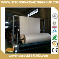 pp woven jumbo bag fabric for chemical products packaging