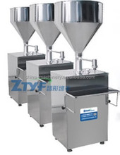 cosmetic jars filling machine hand filling manual filling machinery no cap function hair gel filling equipment