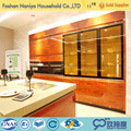 prefabricated homes modern kitchen cabinet prefabricated homes in china factory