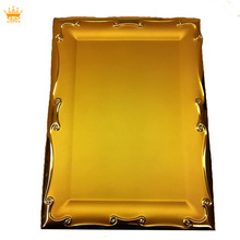Best selling gold plated custom souvenir metal plate