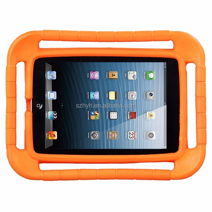Kids proof 7 inch tablet case for ipad mini shockproof and waterproof tablet case cover