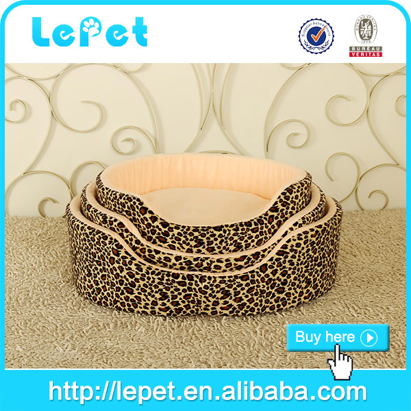 Manufacturer wholesale high quality soft cozy animal bed/dog bed luxury pet bed