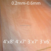 masterpiece A grade Natural olive engineered wood veneer for furniture plywood
