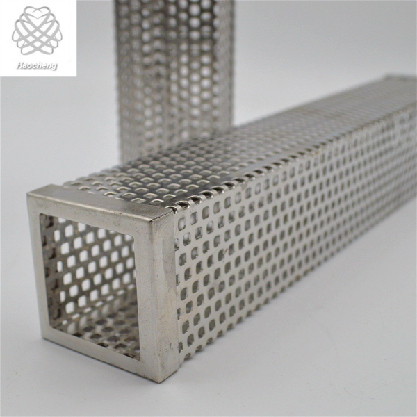 Grill Metal Hexagon 6 Inch Stainless Steel Pellet Smoker Tube For BBQ