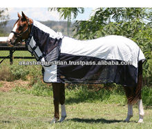 Poly Cotton and Mesh combo horse rug