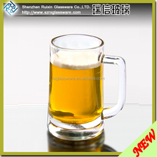 Factory Direct Wholesale Glass Tea Cup Mugs,Glass Measuring Cup,Unbreakable Tritan Beer Mug and Beer glass and Beer Cup