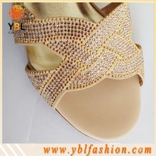 Super Shining Hotfix Rhinestone applique work design for Shoes