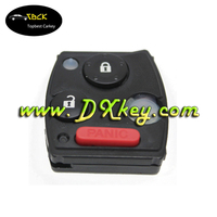 Original 433mhz 2+1 buttons smart key with 46 Electronic chip for Honda car remote key honda city remote key