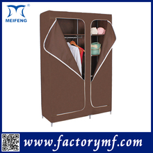 Home Furniture Double Combination Metal Armoire Wardrobe