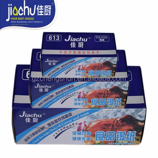 High quality Takeaway Food Packaging Kitchen Aluminum foil