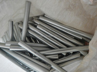 zinc plated axles for wheel barrow