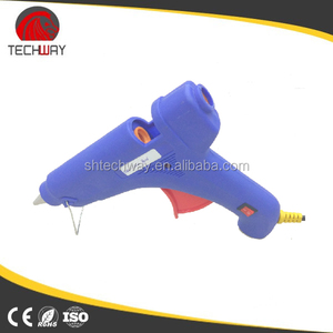 figure designed water color printed glue gun
