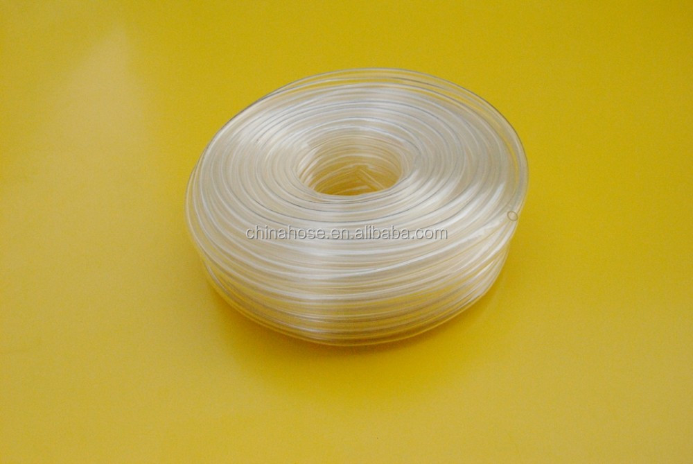 Cixi jinguan mm thin wall clear pvc plastic tube non