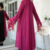2016 Spring Fringe Shawl Cardigan Muslim Long Sleeves Topcoat Long Coat Women