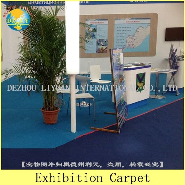Modern Blue Office Floor Carpets, Office Carpets/exhibition carpet