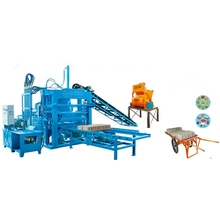 ZCJK QTY4-20A block & brick making machine brick force making machine south africa electric brick making machine