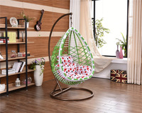 2016 new design single seat swing chair baby wicker hanging chair