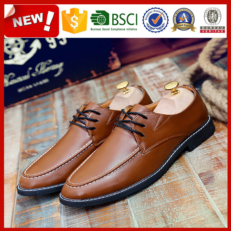 New style oxford shoes men Genuine Leather dress shoes