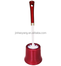 More style of good quality toilet brush with holder ,family bathroom curved handle toilet brush with holder