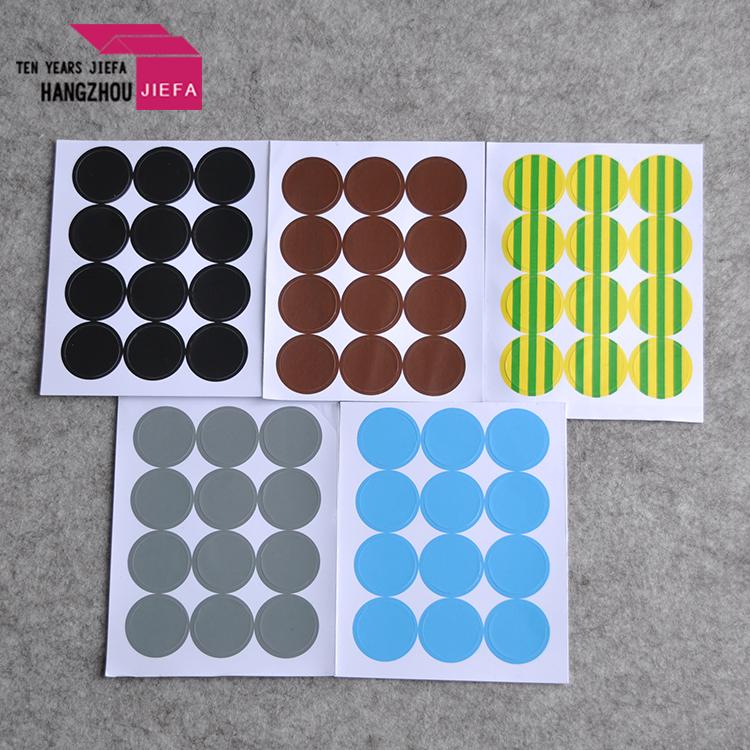 custom sticker usage promotional die cut PVC vinyl stickers printing