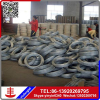 High quality zinc plating soft electro galvanized steel iron wire bwg20