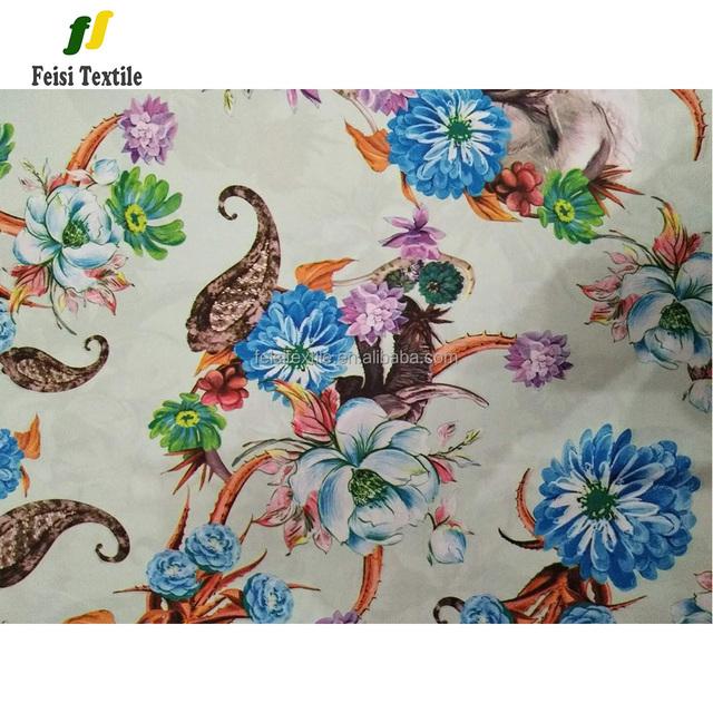 Kinds flower design heat transfer printing paper for garment fabric
