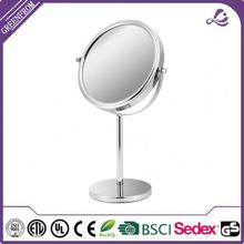 Wholesale Double Sides standing salon cosmetic mirror