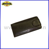 Luxury leather flip case for nokia x3-02 leather pouch