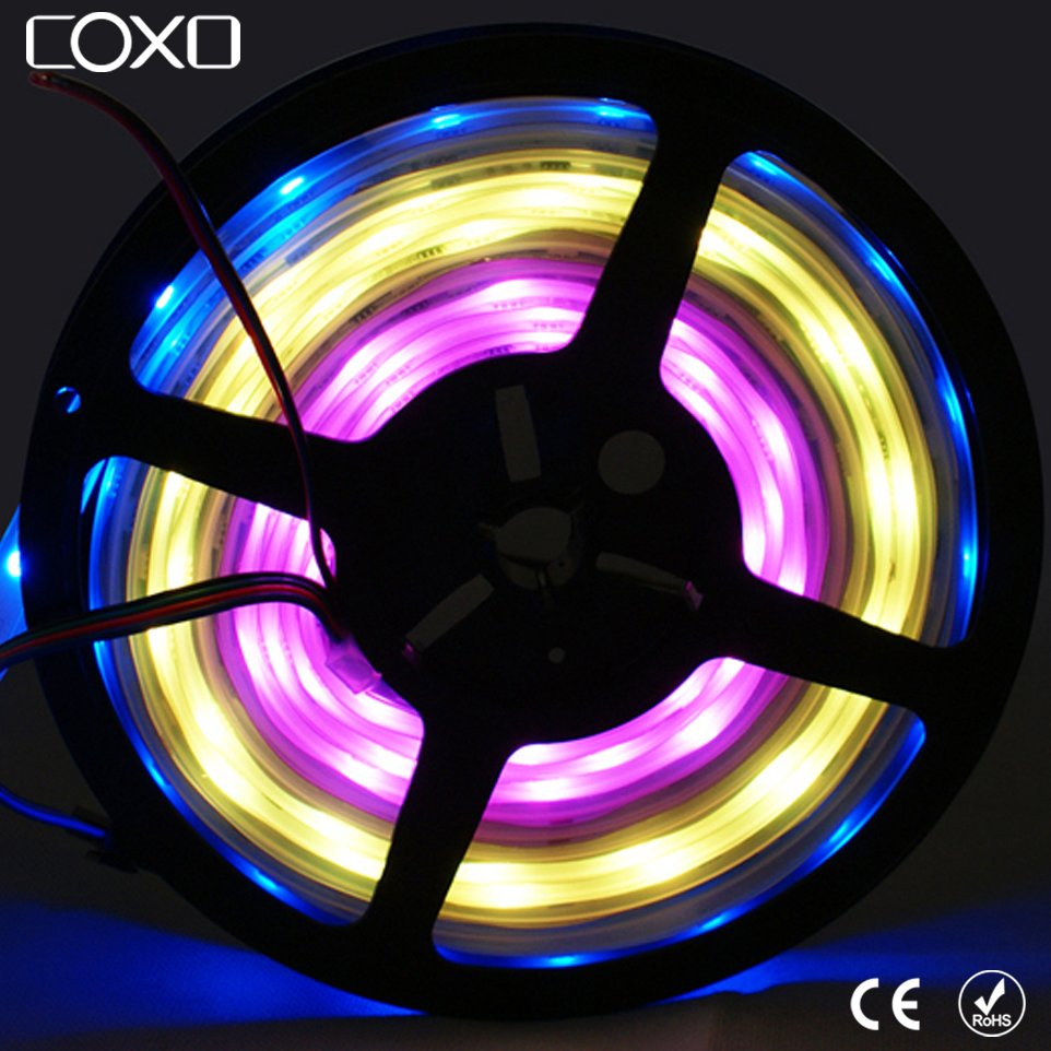 Magic Dream Color Digital Programmable WS2811 WS2812B Color Changeable Addressable SMD 5050 RGB LED Strip